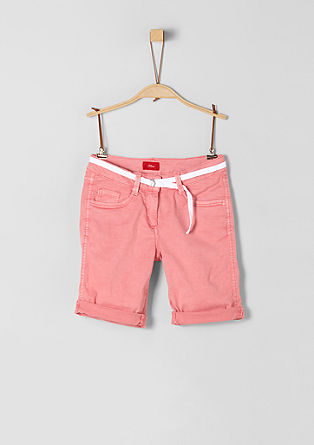 Suri: Bermudas with a belt from s.Oliver