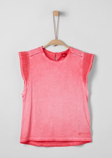 Jerseyshirt mit Wascheffekt
