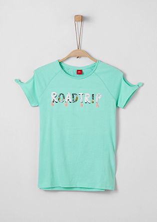 Jerseyshirt mit Statement-Wording