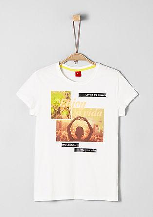 tričko snatištěnou fotografií