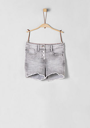 Skinny Suri: shorts with button fly from s.Oliver