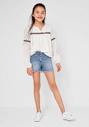 Skinny Suri: High-waisted shorts from s.Oliver