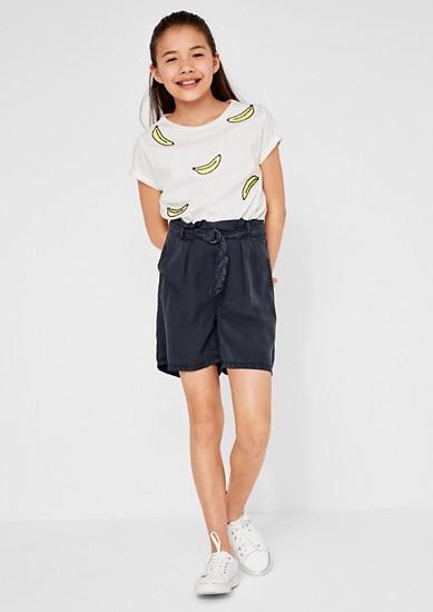 Leichte Paperbag Shorts