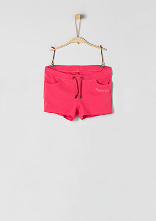 Shorts aus Sweatware