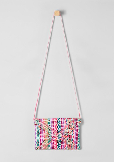 Colourful bag in an ethnic look from s.Oliver