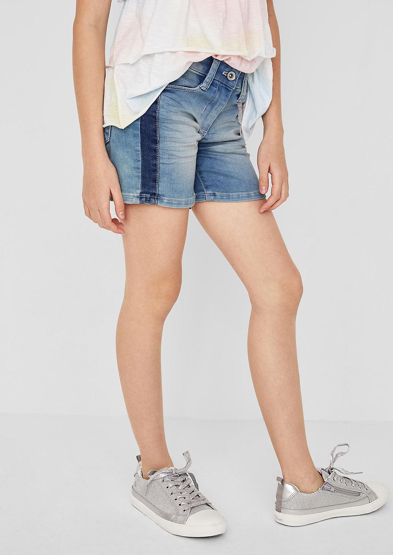 s.Oliver - Skinny Suri: Lässige Denim Shorts - 4