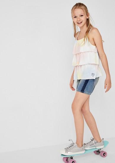 Skinny Suri: Casual denim shorts from s.Oliver