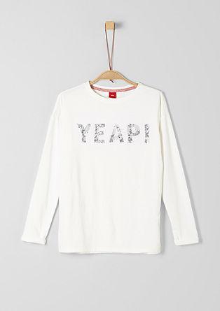 Jerseyshirt mit Applikation