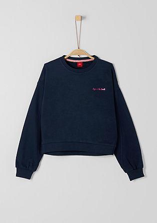 Sweatshirt in Oversized-Shape