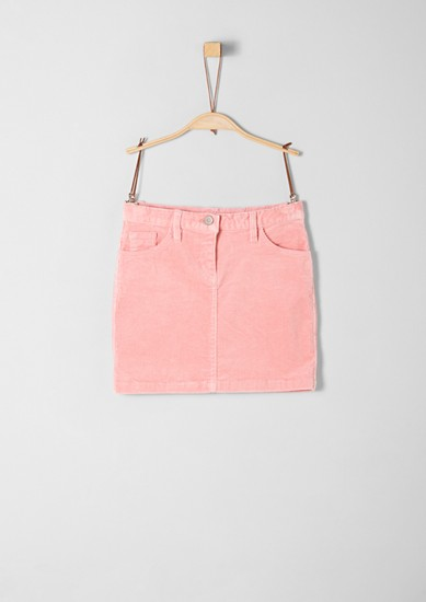 Stretchy corduroy skirt from s.Oliver