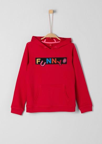 Sweatshirt mit Klettdetail