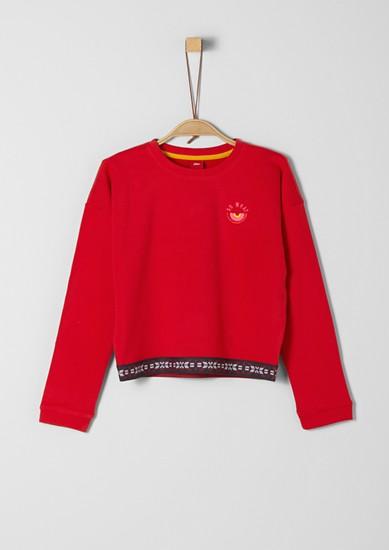 Sweatshirt mit Gummibund