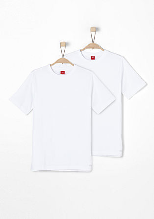 Double pack of basic T-shirts from s.Oliver