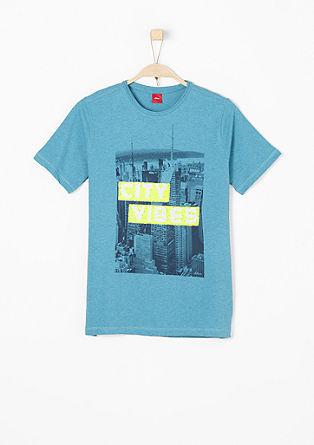 Majica scull z obojestranskimi bleščicami