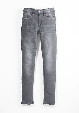 Skinny Seattle: grey stretch jeans from s.Oliver