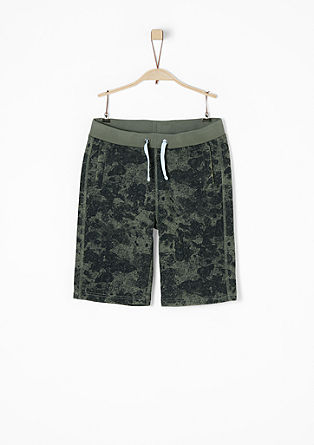 Bermudas with an all-over print from s.Oliver