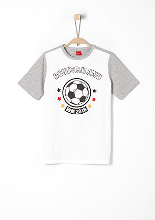 Printed T-shirt with a World Cup motif from s.Oliver