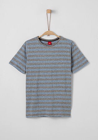 T-shirt with stripes from s.Oliver