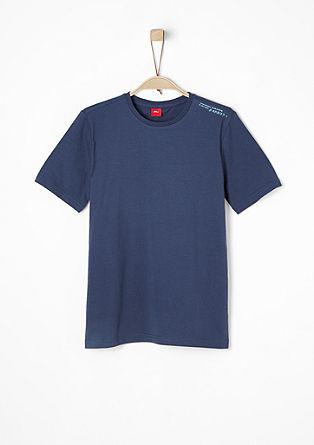 Basic-Shirt mit Schrift-Print