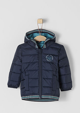Sporty, functional quilted jacket from s.Oliver