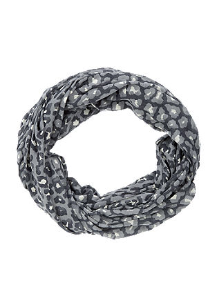 Snood with an animal print from s.Oliver