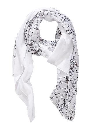 XL-Schal mit floralem Print