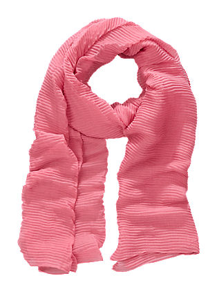 Woven pleated scarf from s.Oliver