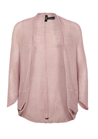 Openwork knit cardigan from s.Oliver