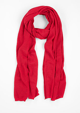 Locker gestrickter Schal