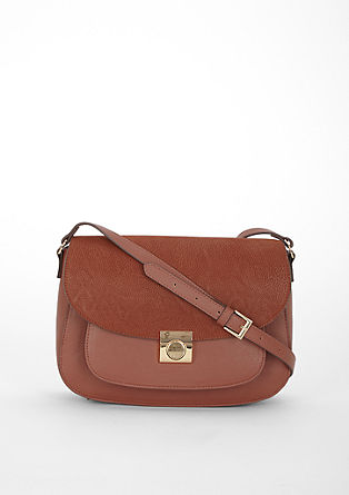 Imitation leather saddle bag from s.Oliver