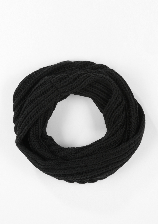 Strickloop   Accessoires > Schals & Tücher > Loops   Grau/schwarz   100% polyacryl   s.Oliver BLACK LABEL