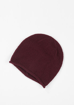 Lightweight hat with a crochet effect from s.Oliver
