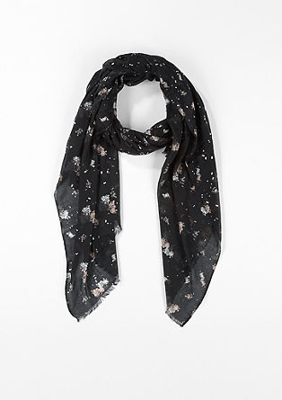 Lightweight scarf with a print from s.Oliver