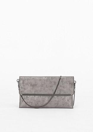 Envelope-Tasche im Metallic-Look