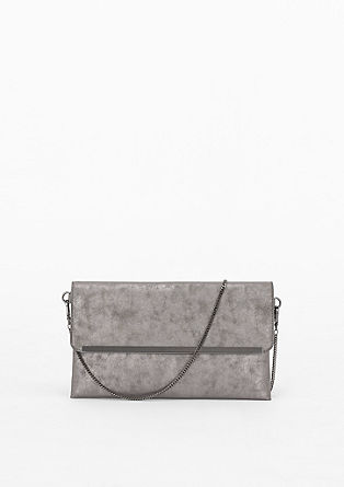 Envelope bag in a metallic look from s.Oliver