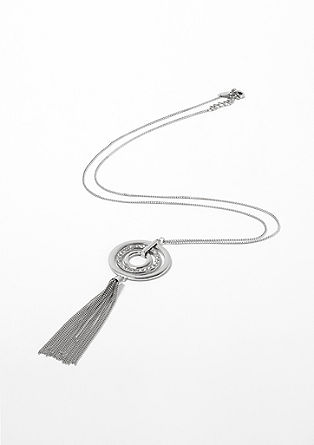 Long necklace with a tassel from s.Oliver