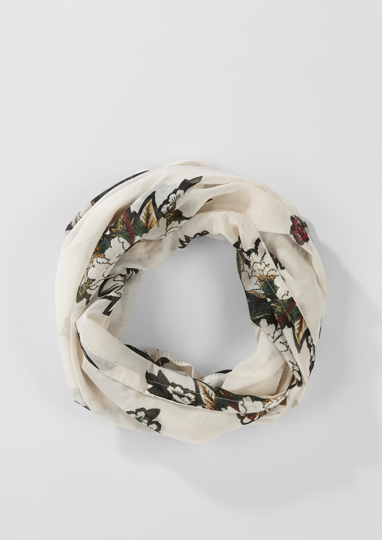 Loop | Accessoires > Schals & Tücher > Loops | Weiß | 100% polyester | s.Oliver BLACK LABEL