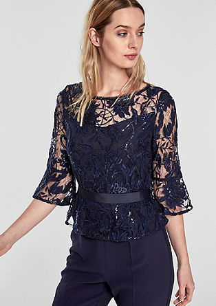 Formal jumpsuit with lace from s.Oliver