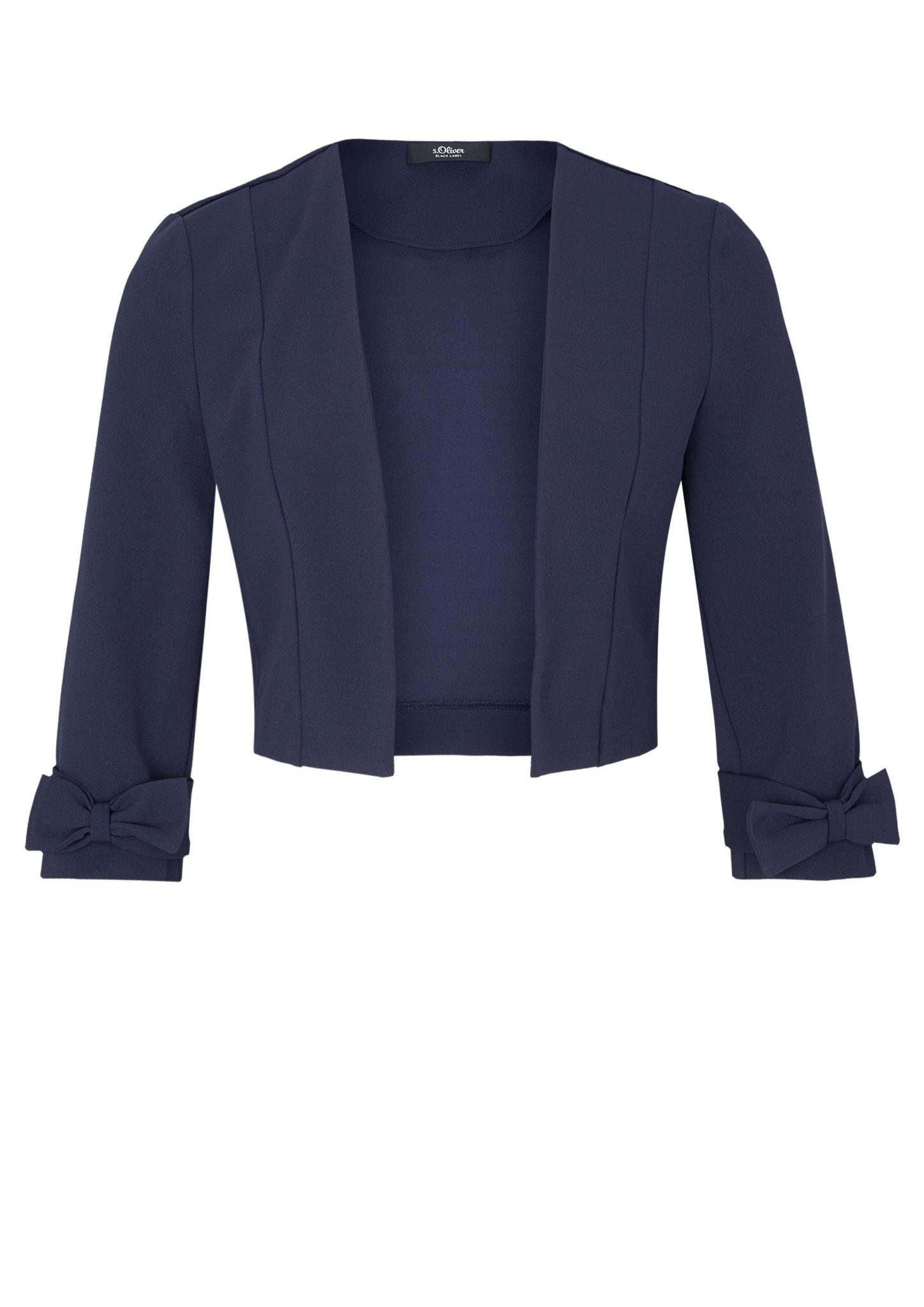 Bolero | Bekleidung > Jacken > Boleros | Blau | 95% polyester -  5% elasthan | s.Oliver BLACK LABEL