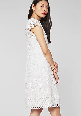 Flared lace dress from s.Oliver