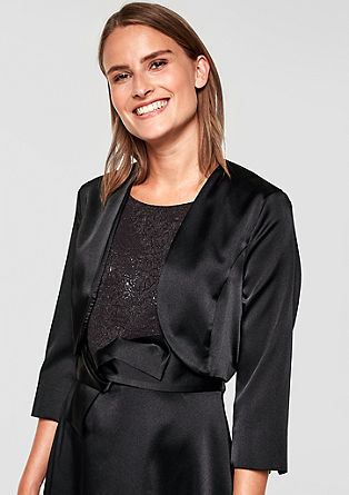 Elegant bolero jacket from s.Oliver