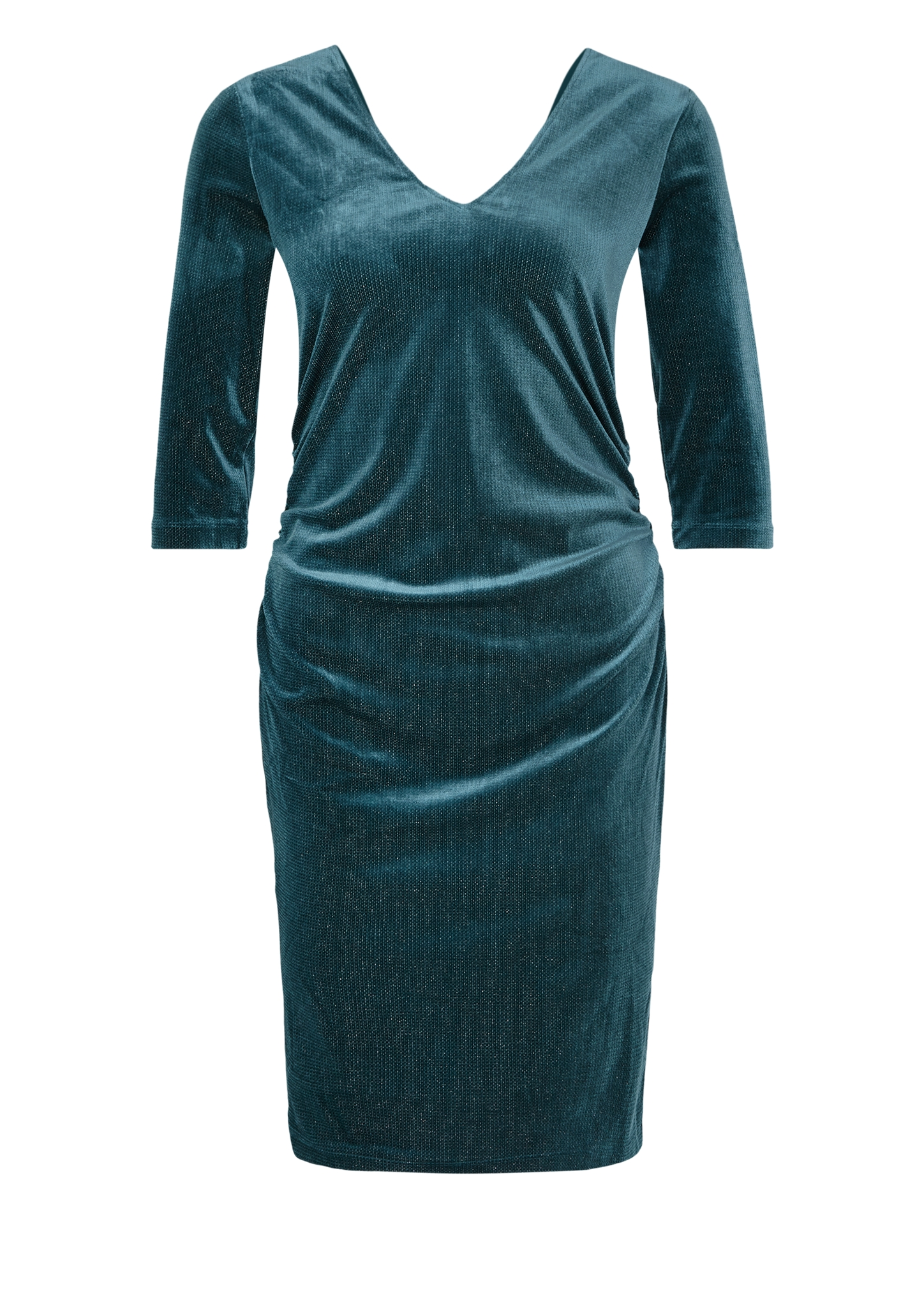 Abendkleid | Bekleidung > Kleider > Abendkleider | Grün | Obermaterial 92% polyester -  5% elasthan -  3% metallisiertes garn| futter 100% polyester | s.Oliver BLACK LABEL