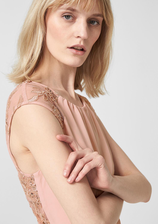 s.Oliver - Rückenfreies Kleid mit Embroidery - 4