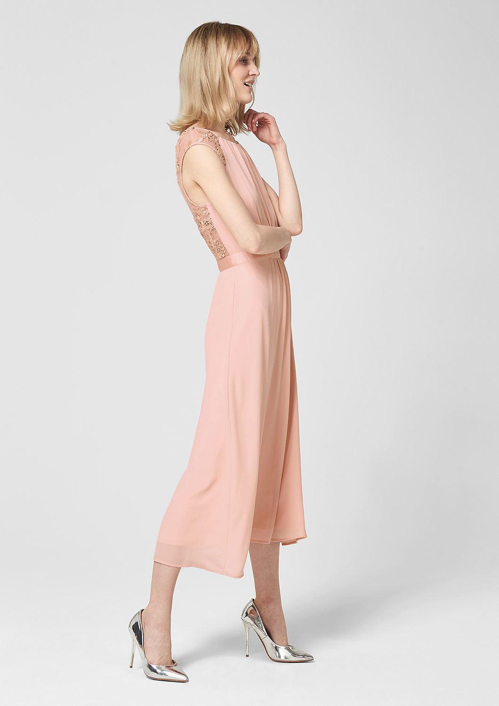 s.Oliver - Rückenfreies Kleid mit Embroidery - 5