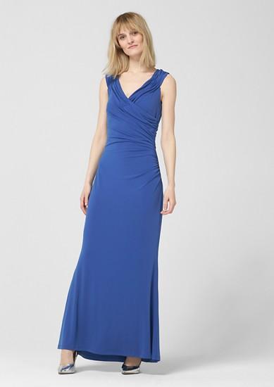 Abendkleid mit Drapierung