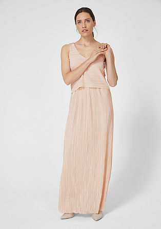 Shimmering pleated dress from s.Oliver