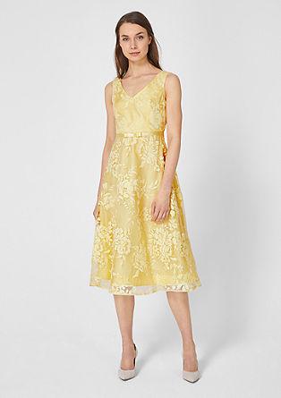 Festliches Mesh-Kleid