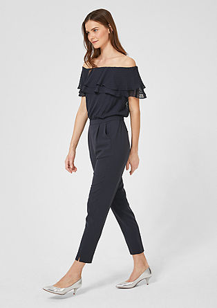 aa40e260b1ec Jumpsuit with flounce from s.Oliver
