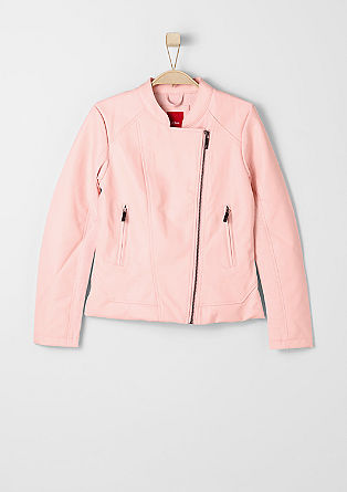 Imitation leather jacket from s.Oliver