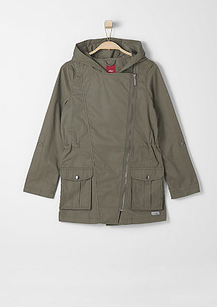 Lightweight cotton blend coat from s.Oliver